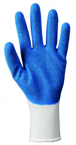 Ръкавици топени в латекс Topgrip Eco Blue №9