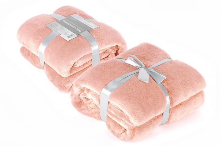 Одеяло Cashmere Softness праскова 150/200 см