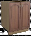 "Долен шкаф с две врати ""Орех"", Н 60см"
