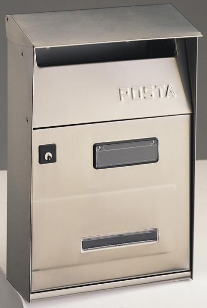 Пощенска кутия POSTA инокс