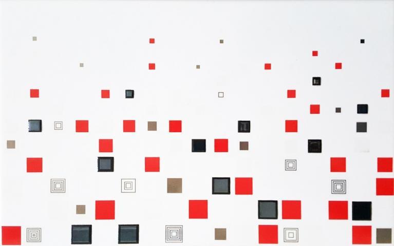 Декоративна плочка Nero Decor 25x40 см