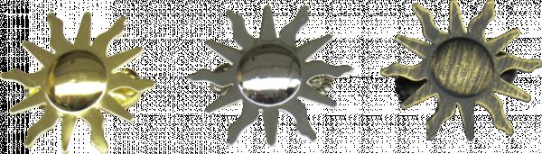 Декор.кламер Слънце