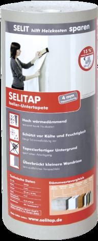 Каширана изолационна ролка 4 мм (5м2)