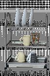Сушилник за прибори троен 470F