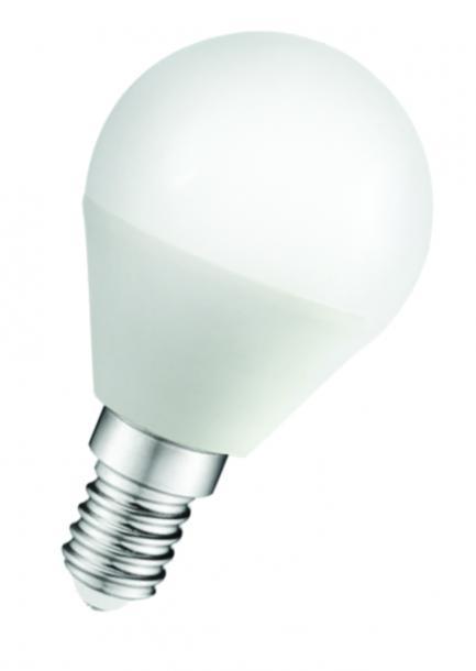 LED крушка 5W 220V E14 P45 мат 6500K