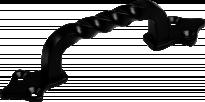 Дръжка М. 1002-90 черна