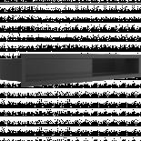 Решетка Luft 9/60 см черна