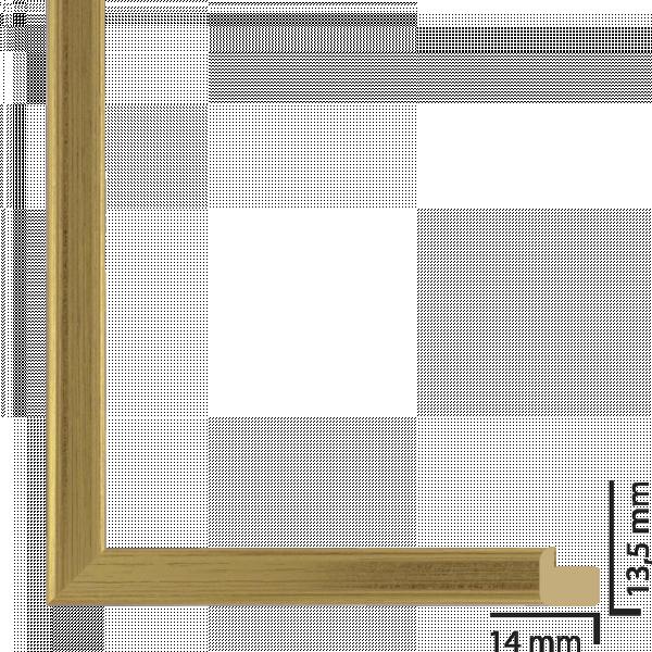 Рамка дърво 10х15 см злато