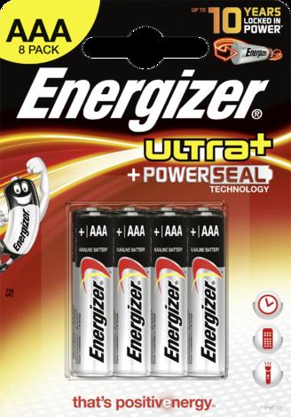 Батерии Ultra+ Micro AAA 8 бр.