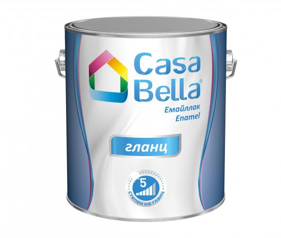 Емайллак Casa Bella  2.5 л, RAL 1015