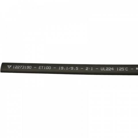 Термосвиваем шлаух 19.1/9.5 черен Elematic