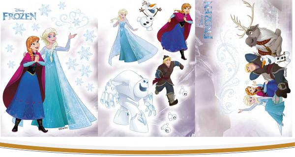 Стикер за стена Frozen 4 35x50 см