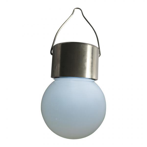 Градинска лампа глобус 6х12 см