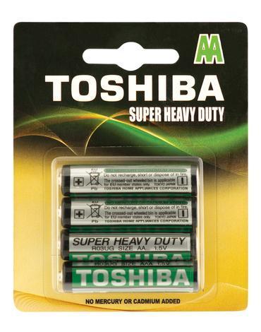 Батерии Toshiba Суп.Хеви 4xR6U