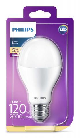 LED крушка 18.5W E27 2700K 2000Lm