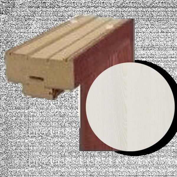 Каса Standard горна греда 80 см. - ясен бял 3D