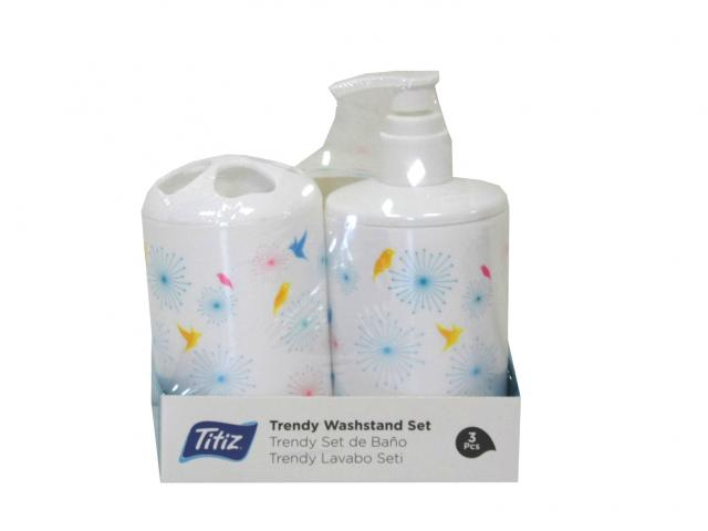 Комплект за баня три части Титиз