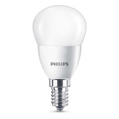 LED крушка 5.5-40W P45 E14 WW FR ND