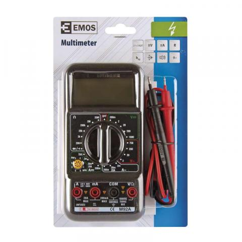Мултиметър М92А EMOS 1000V 2