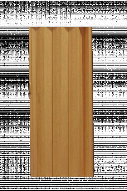 Сгъваема врата хармоника, Състарен Дъб 90х200 см.