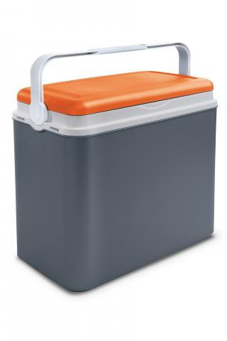 Хладилна кутия 24л, оранжево-сиво