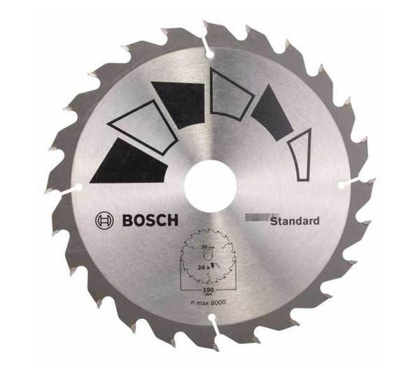 Циркулярен диск 190мм Standard BOSCH