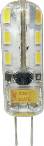 LED крушка G4 2.5W 220V 6400K SMD 250lm