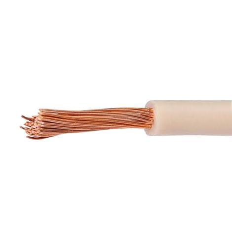 Кабел H05V-K  0.50 бял, 20 м руло