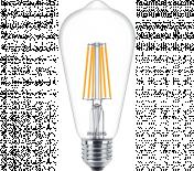 LED филамент  7W/60W/ ST64 E27 2700K