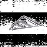 Сапунерка мрежа- ъглова мини MODERN