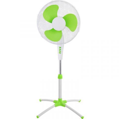 """Вентилатор на стойка 16""""  MUHLER MF-6010Т зелен"""