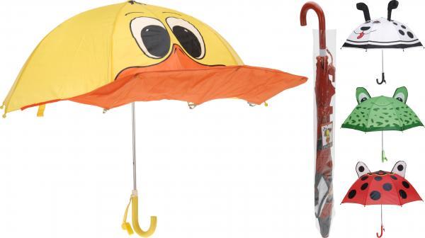 Детски чадър с животни