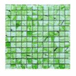 Стъклена мозайка зелен