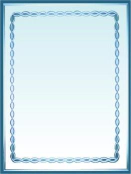 Огледало ''Кристал'' с орнаменти