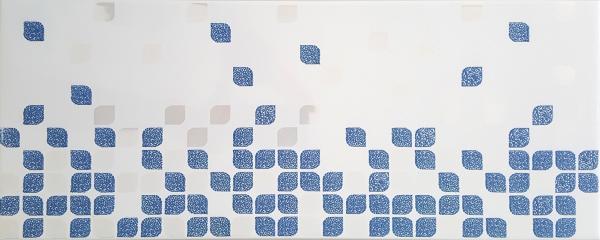 Декоративна плочка France Bleu 20x50 см