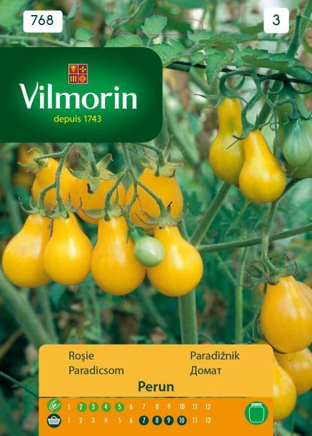 Домат Perun (жълт) - Вилморин