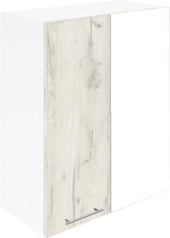 Крафт G12 горен с една врата и мъртво(300) 50см, дъб крафт бял