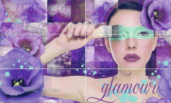 Декор Marina Glamour Violet