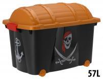 Кутия за съхранение Пират 57 л.