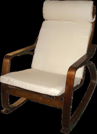 Люлеещ стол кафяв