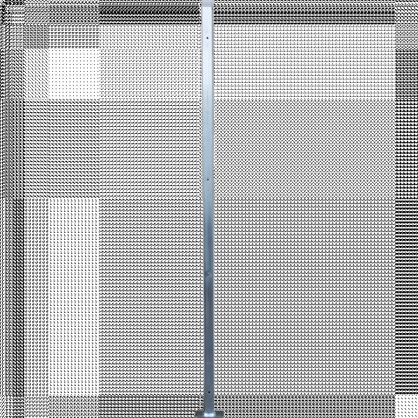 Ограден кол цинк 200 см