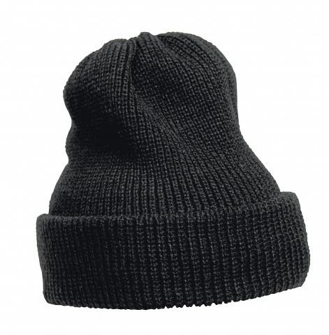 Плетена шапка черна AUSTRAL