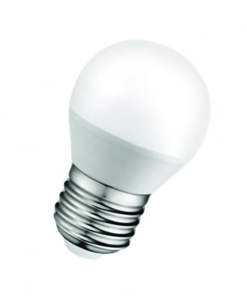 LED крушка 5W 220V E27 P45 мат 6500K