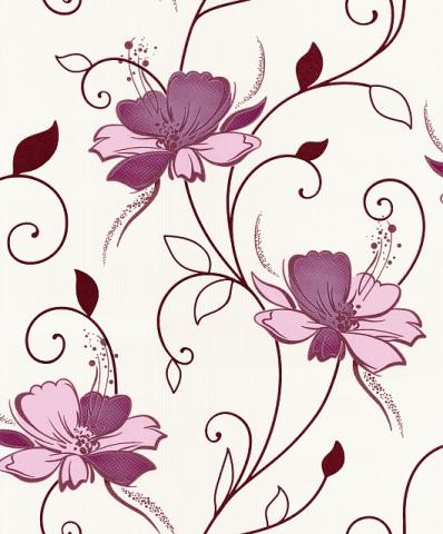 Тапет Винил  Палитра лил. цветя