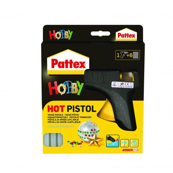 Пистолет и патрони за горещо лепене Pattex