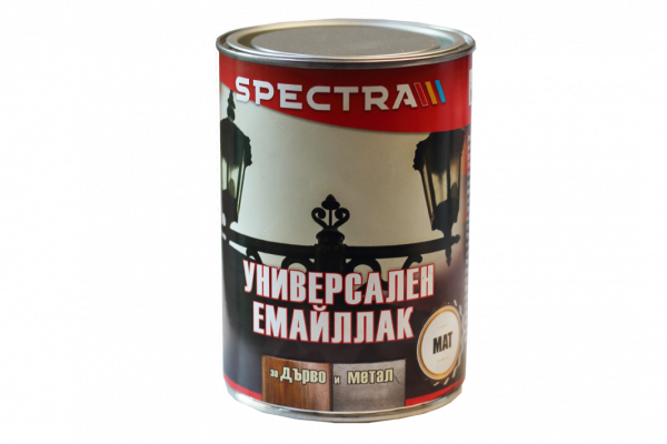 Емайллак Spectra Universal мат 2.5л, кафяв