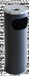 Пепелник черен 12 л, 58 х20.5 см