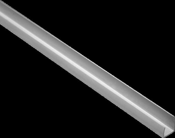 PVC профил 20/12.5 x 2500 мм