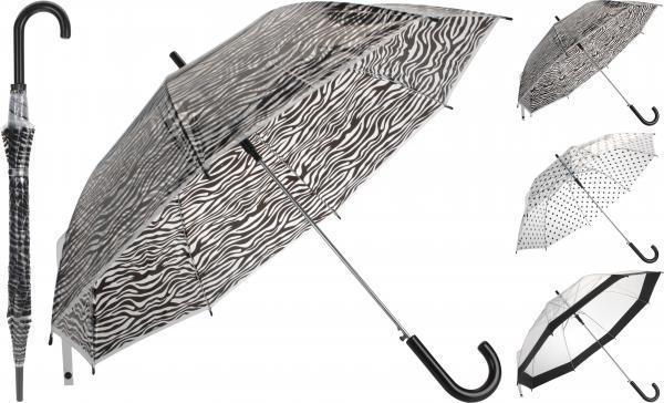 Чадър TRANSPARENT 99 см 3 цвята