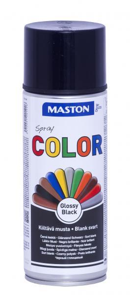 Спрей боя Maston 0.4л, черен гланц